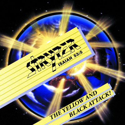 stryper yellow and black attack 400